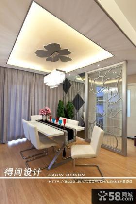 2013现代风格餐厅吊顶灯装修效果图