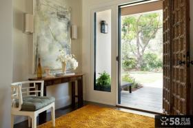 进门玄关装修设计效果图欣赏