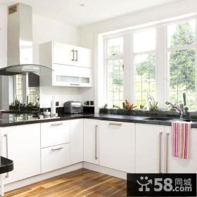 50小户型北欧清新的厨房装修效果图大全2014图片