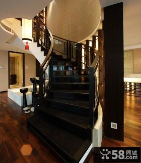 复式楼梯装修效果图片大全