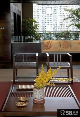 中式古典装修客厅装饰