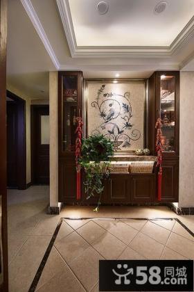 新中式家庭设计玄关