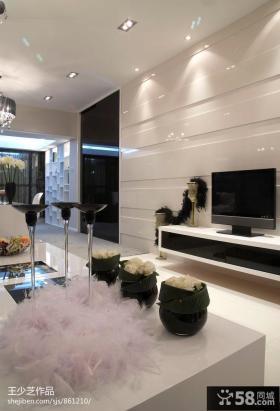 现代简约家居装修设计效果图