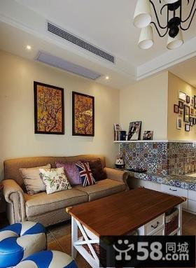 小户型家居客厅装修效果图欣赏