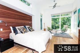 美式现代别墅主卧室装修效果图