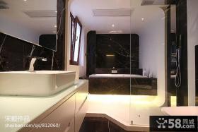 现代卫生间设计效果图片大全