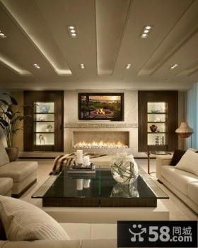 现代设计客厅吊顶大全
