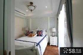 欧式田园风格室内小卧室图片