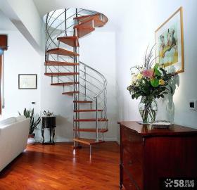 复式旋转楼梯设计图