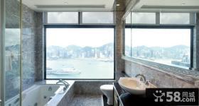 西九凯旋门现代风格卧室飘窗装修效果图大全2014图片