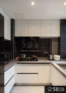 6平米现代简约时尚小厨房设计