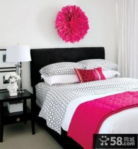 现代复式楼浪漫婚房、小卧式装修效果图