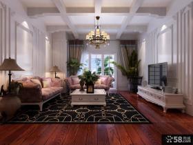 复式二楼客厅装修效果图