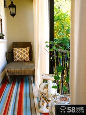 小户型家庭阳台装修效果图片