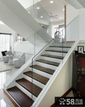 简约风格装饰楼梯图片欣赏