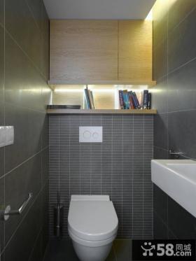 小复式楼卫生间装修效果图