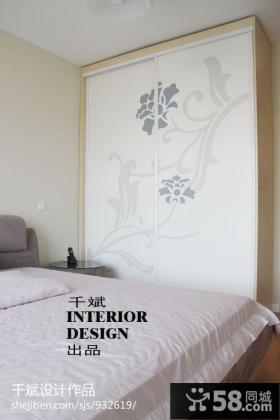 次卧室衣柜装修效果图大全2013图片