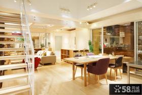 温馨日式家居餐厅家用装修设计