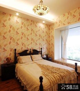 简欧风格设计卧室装修效果图片欣赏