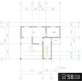 简约农村独栋别墅设计户型图