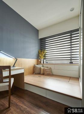 美式室内装修小书房欣赏