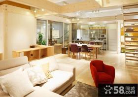 日式风格复式客厅装修图片欣赏