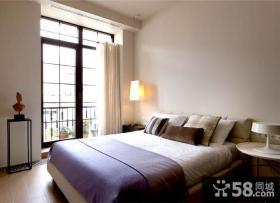 现代风格简约式卧室效果图