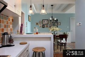 地中海风格厨房隔断图片