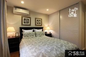 美式卧室大衣柜图片