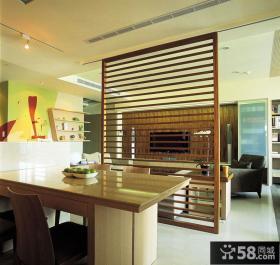 餐厅客厅隔断设计