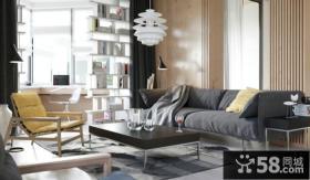 现代简约风格时尚室内装修效果图