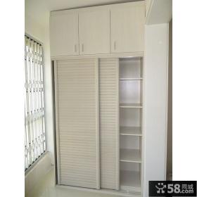 阳台储物柜推拉门装修效果图