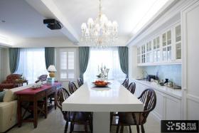 160平新古典风格别墅装修效果图片