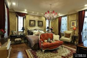 古典欧式豪华卧室布置