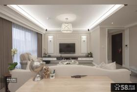 美式新古典别墅室内装修图片