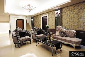 欧式古典装修客厅大全