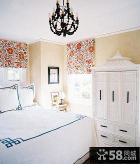 卧室欧式整体衣柜设计效果图