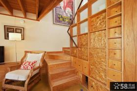 美式家装设计楼梯效果图