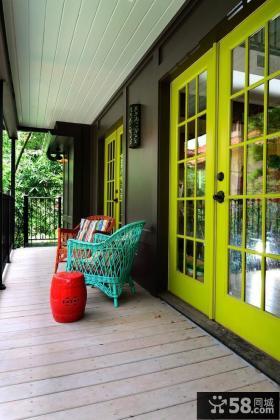 创意家装阳台色彩装潢