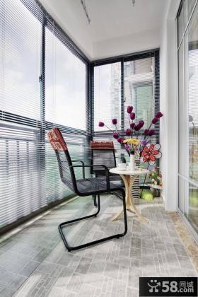 家庭设计室内阳台效果图大全
