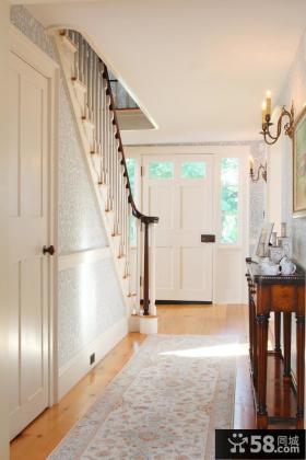 别墅楼梯玄关装修效果图欣赏