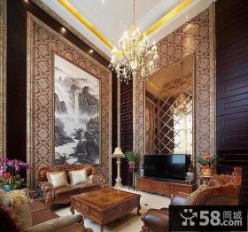 古典大器欧式客厅设计