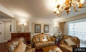 欧式风格复式楼房装修图片欣赏