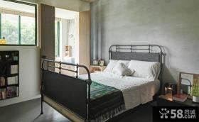 复古现代设计卧室室内装饰图片