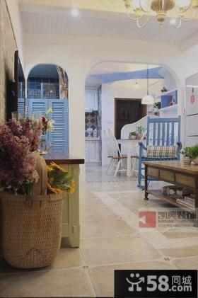 地中海风格二居家庭室内装修