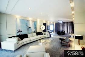 现代中式装潢设计二居室设计
