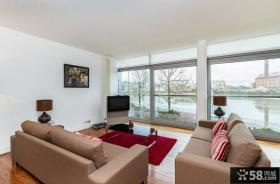 70平小户型客厅装修效果图欣赏