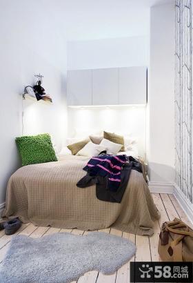 小空间卧室室内装潢图片