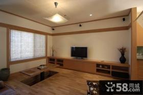 7万打造日式现代风格卧室装修效果图大全2014图片
