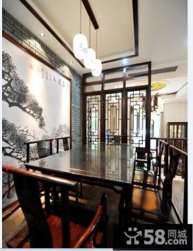 古典中式餐厅欣赏图